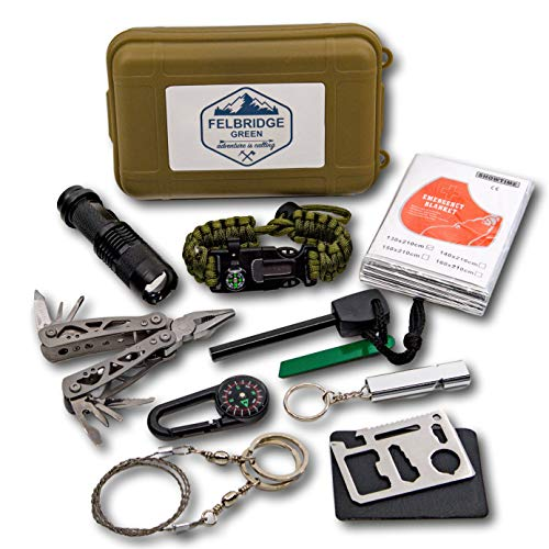 Outdoor Emergency Survival Kit w...