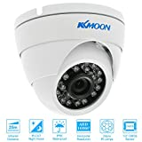 KKmoon Dome Überwachung Kamera 1080P 2.0MP AHD  3,6 mm 1/3 '' CMOS 24 IR Lampen Night Vision IR-CUT wasserdichte Indoor Outdoor CCTV Sicherheit PAL-System