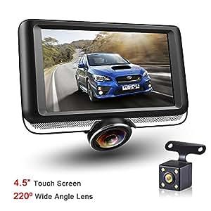 360 panorama dash cam rear camera 1080p. Black Bedroom Furniture Sets. Home Design Ideas