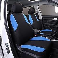 Asiento de coche para fundas para asientos de coche universal Auto Asientos cojín negro 11pc