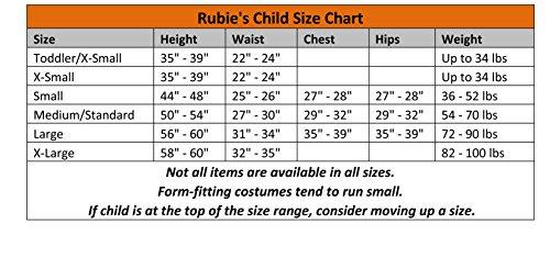 Imagen de rubie 's disfraz oficial esqueleto para mujer niñas pequeñas alternativa