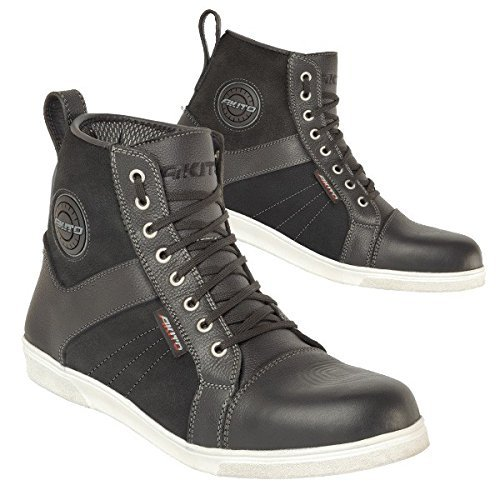 Preisvergleich Produktbild 18405846/1200 - Akito Citizen Motorcycle Boots 46 Black (UK 12)