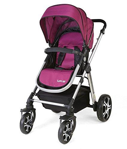 Luv Lap Premier Baby Stroller (Purple)