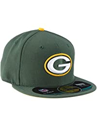 New Era Erwachsene Baseball Cap Mütze NFL On Field Bay Packers 59 Fifty Fitted