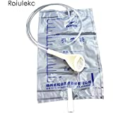 5pcs 1000ml Latex Sets Of Disposable Set Of Urine Bags Male Drainage Bag With Urine Sets Of Anti-Reflux Urine...