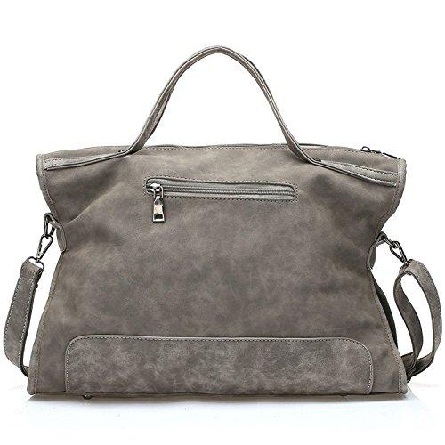 Borse della borsa della borsa della borsa della borsa della borsa della borsa della borsa della maniglia delle borse della Myleas Grigio