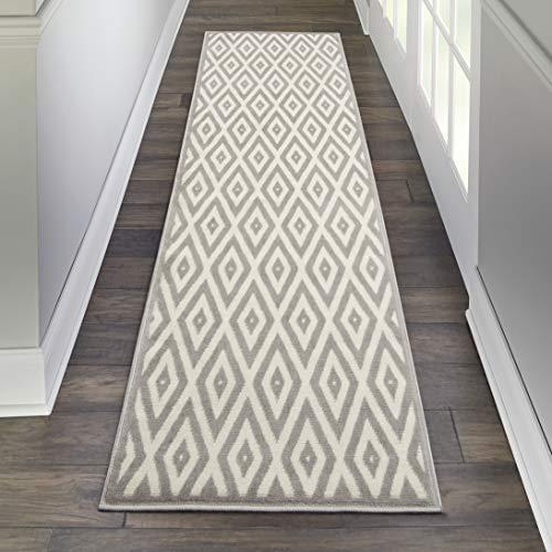 Marca de Amazon - Movian Mesta, alfombra rectangular, 228,6 de largo x 68,6 cm de ancho diseño geométrico...