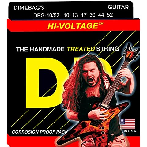 DR Dimebag Darrell Signature Hi-Voltage Electric Guitar Strings10-52