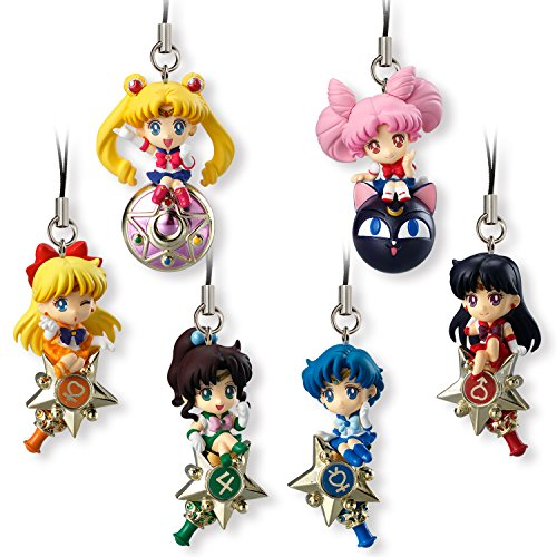 Sailor Moon Portachiavi Keychain 5 cm Display Twinkle Dolly (10) Bandai