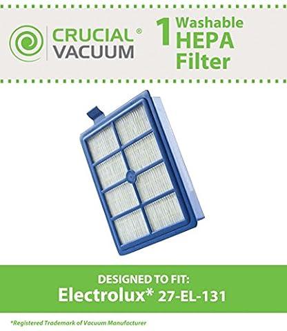 Electrolux 27-el-131Filtre Aspirateur HEPA lavable, comparer à la pièce # 9002564053, conçu et fabriqué sous vide Crucial