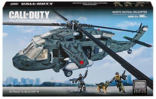 Mattel Mega Bloks CYR77 Call Of Duty - Heavy Lift Copter -