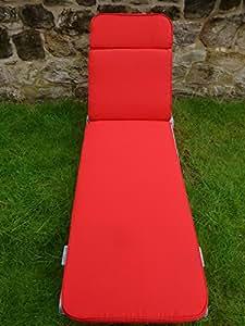 Gartenmöbel, Rot, Für Garten Liege, 198 X 152 X 5