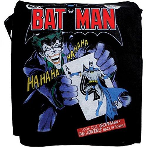 Batman , Sac pour femme à porter à l'épaule Schwarz/Multicolor -