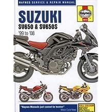 Suzuki SV650 and SV650S Service and Repair Manual: 1999 to 2008 (Haynes Service and Repair Manuals)