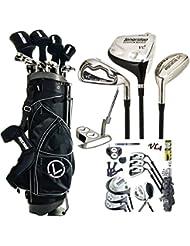 Longridge VL4Titan graphit Komplett Paket, Herren Golf Komplett Set
