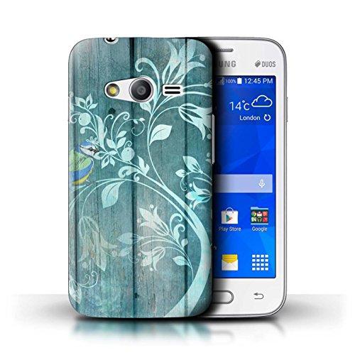 Stuff4® Hülle/Case für Samsung Galaxy Ace 4 Neo/G318 / Jade Baum  Muster/Wintermode Kollektion