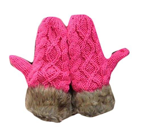 yanfeng Fashion Lady laine à tricoter épaisse Gants
