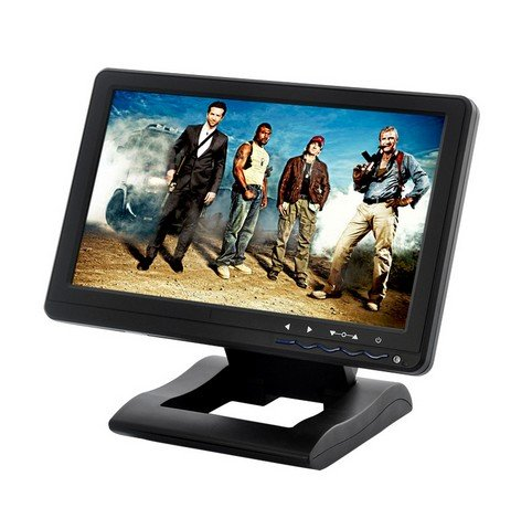 Sourcingbay Portable 10.1 Inch Touchscreen USB Monitor - Built-in Speakers