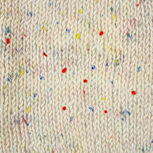 Rellana Socken Wolle, Flotte Socke, Tweed Classic, 4 Fach (Natur) -