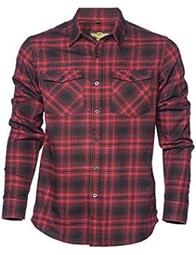 West Coast Choppers Shirt El Diablo Flannel Workshirt