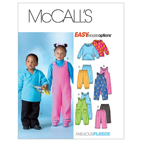 McCall's Patterns M4644 Toddlers'/Children's Top