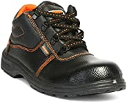 Hillson Beston Safety Shoe (Size-9 UK, Black)