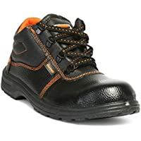 Hillson Beston Safety Shoe (Size-5 UK, Black)