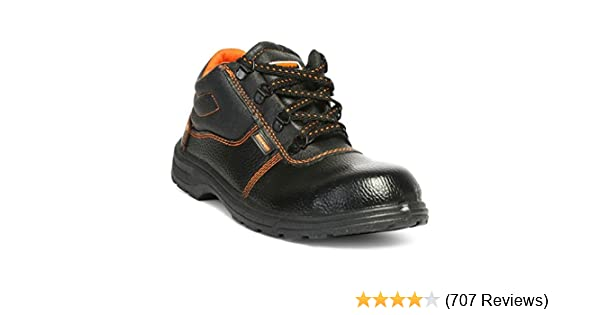 77f8a793c6 Hillson Beston Safety Shoe (Size-9 UK, Black): Amazon.in: Industrial ...