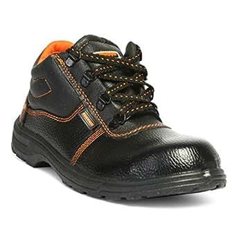 Hillson Beston Safety Shoe, Size-7 UK, Black
