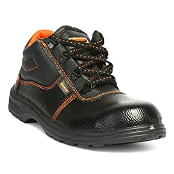 Hillson Beston Safety Shoe, Size-6 UK, Black