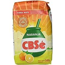 Yerba Mate CBSé Naranja Sabor (naranja)