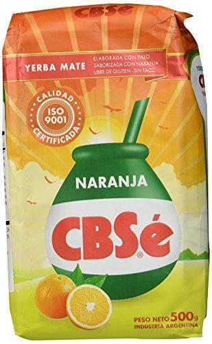 Ingredientes: La yerba mate , el sabor natural de naranja