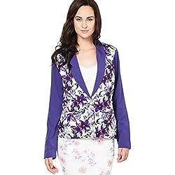 VERO MODA Women's Blazer (1576757002_Navy Blue_36)