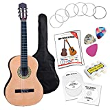 Classic Cantabile AS-861 Guitare de Concert 7/8 Ensemble Apprentissage