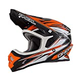 O'Neal 3Series Kinder MX Helm HURRICANE Orange Motocross Enduro Offroad, 0603KH-10, Größe Small (47 - 48 cm)