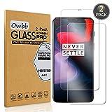 Owbb [2 Stück] Transparent Gehärtetes Glas Display schutzfolie Für Oneplus 6 Smartphone Schutz Explosionsgeschützter Film