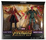 Marvel Hasbro Legends Toys R Us Exclusive Avengers Infinity War 2-Pack Vision and Scarlet Witch