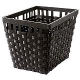 IKEA ASIA KNARRA Korb, schwarz-braun
