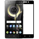Madhur Lenovo K8 Note Tempered Gorilla Glass Edge To Edge Curved Full Screen Protector For Lenovo K8 Note Black Tempered (Full Screen Protection)