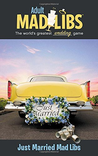 Just Married Mad Libs (Adult Mad Libs) by Molly Reisner (2014-02-06)
