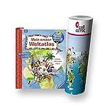Ravensburger Kinder Sachbuch - Mein Erster Weltatlas + Kinder Weltkarte - Länder, Tiere, Kontinente