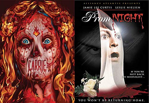 When Proms Go Horribly Wrong: Carrie (Special Halloween Limited Edition Slip Cover) & Prom Night (Double Horror Feature Film Pack)