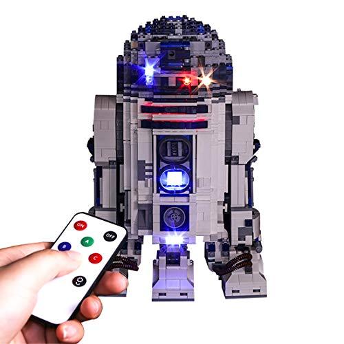 MAJOZ LED Licht-Set Für Baustein Spielzeug,Beleuchtung Kit Kompatibel Mit Lego Star Wars 10225 - R2-D2 (Modell Nicht Enthalten)