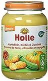 Holle Bio Zucchini, Kürbis und Kartoffeln, (6 x 190 g)