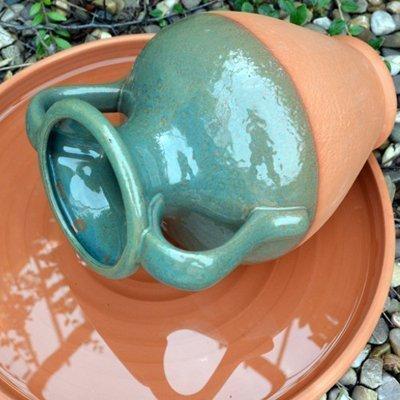 terracotta-amphora-water-feature-pot-with-green-glaze