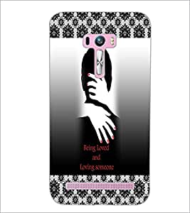 PrintDhaba Quote D-3261 Back Case Cover for ASUS ZENFONE SELFIE ZD551KL (Multi-Coloured)