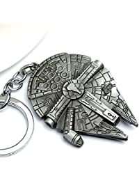 Starwars Schlüsselanhänger Motiv Millenium Falcon.