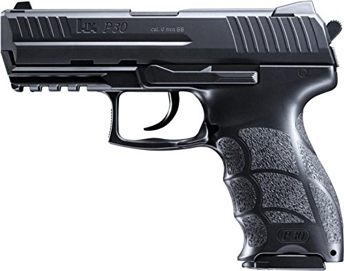 Heckler & Koch P30 Softair / Airsoft, Federdruck, Lizenzversion, mit HopUp & Metal Slide < 0,5 J.#14