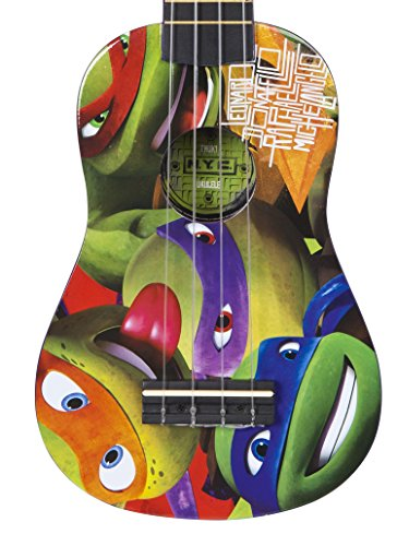 Image of Teenage Mutant Ninja Turtles Musical Instruments TMUK1 Ukulele