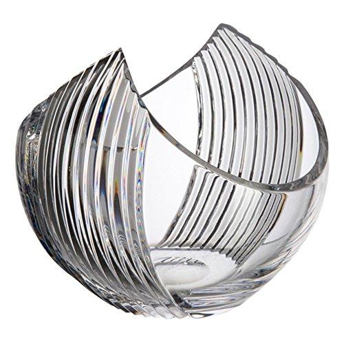 Glas-Bohemia Gross Vase, Glas, 15x 15x 13cm